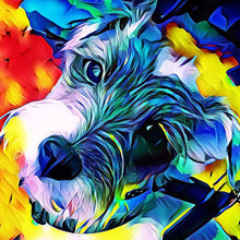 Load image into Gallery viewer, 5D DIY Diamond Painting  Cartoon Dog colors
