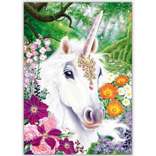 Load image into Gallery viewer, 5D Diamond Painting Cartoon Unicorn
