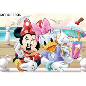 5D Diamond Painting Mouse Cartoon Duck