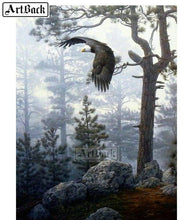 Load image into Gallery viewer, 5D Diamond Painting Woods Eagle