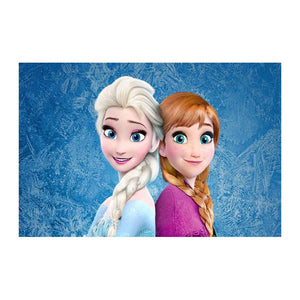 diamond painting cartoon Frozen