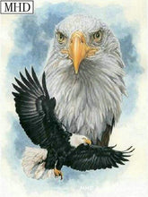 Load image into Gallery viewer, diamond painting eagle animal 2
