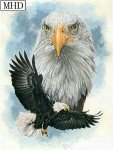diamond painting eagle animal 2
