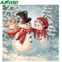 Load image into Gallery viewer, Diamond Painting Christmas Cartoon Snowman