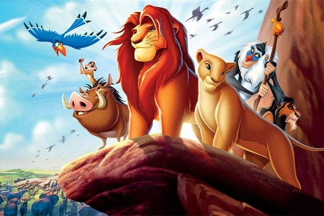 Diamond painting Cartoon Simba