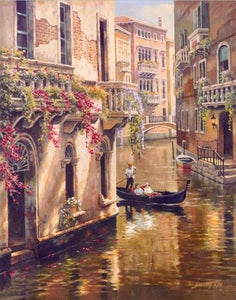 Diamond Painting classic Venice
