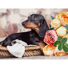 Load image into Gallery viewer, Diamond Painting Dachshund