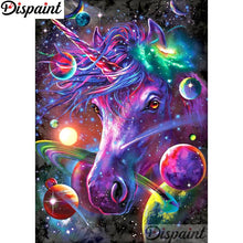 Load image into Gallery viewer, Diamond Painting Color unicorn colorful landscape