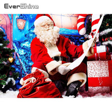 Load image into Gallery viewer, Diamond Painting Christmas Santa Claus sitting
