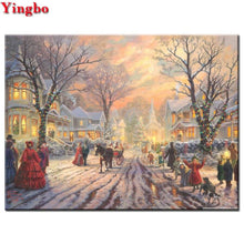 Load image into Gallery viewer, diamond painting Christmas Street