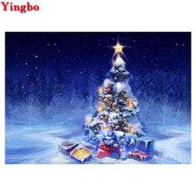 Load image into Gallery viewer, Diamond Painting Christmas Tree lights