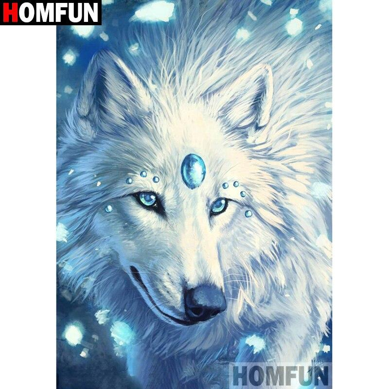 Diamond Painting cartoon wolf
