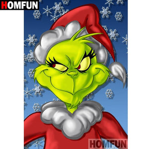 diamond painting Cartoon christmas grinch