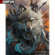 Load image into Gallery viewer, Diamond Painting animal wolf