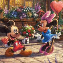 Load image into Gallery viewer, Diamond Painting Disney Mickey mouse love Minnie mouse