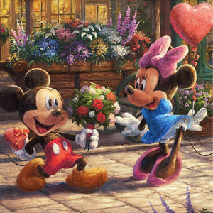 Diamond Painting Disney Mickey mouse love Minnie mouse