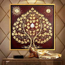 Load image into Gallery viewer, Diamond Painting asian tree