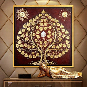 Diamond Painting asian tree