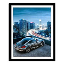 Load image into Gallery viewer, Diamond Painting car in city