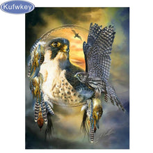 Load image into Gallery viewer, Diamond Painting animal eagles