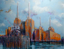 Load image into Gallery viewer, Battersea cranes II