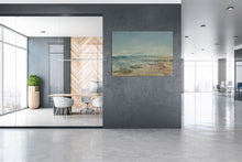 Load image into Gallery viewer, Cerulean sky cool grey shore Yas Island