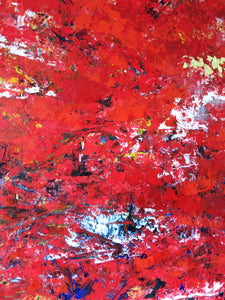 Red abstract II