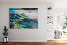 Load image into Gallery viewer, Teal and pink lavender headland
