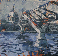 Load image into Gallery viewer, Millenium bridge to st pauls