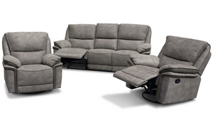 Reef Recliner Suite - Three Seater + Recliner + Recliner