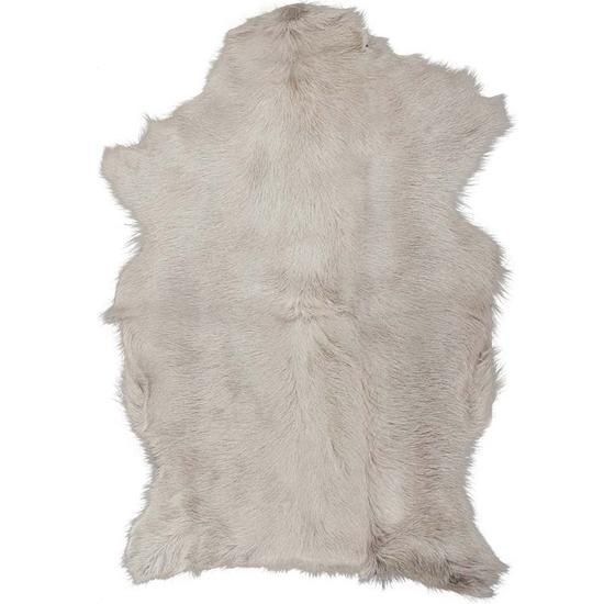 Adore Goatskin Hide - Light Stone