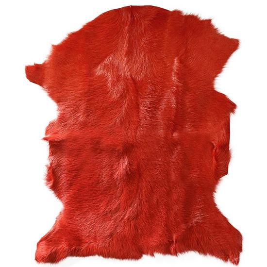 Adore Goatskin Hide - Burnt Orange