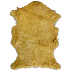 Adore Goatskin Hide - Golden Yellow