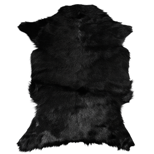 Adore Goatskin Hide - Black
