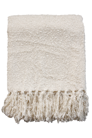 Boucle Throw - Cream