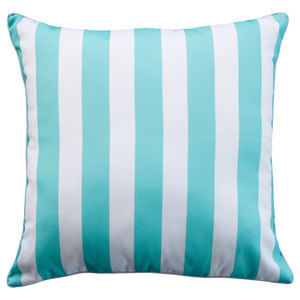 Branch Stripe - Aqua
