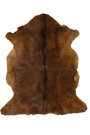Adore Goatskin Hide - Natural Brown