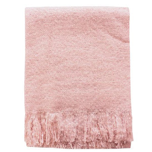 Clara Throw - Dusky Pink
