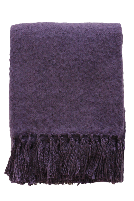 Rhapsody Throw - Plum