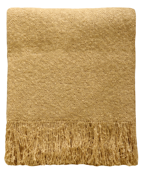 Clara Throw - Ochre