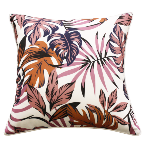Monstera Cushion - Multi
