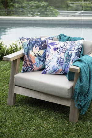 Abstract Palms Cushion