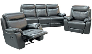 Preston Recliner Suite - Three Seater + Recliner + Recliner
