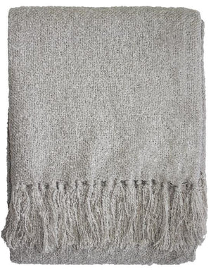 Boucle Throw - Light Stone
