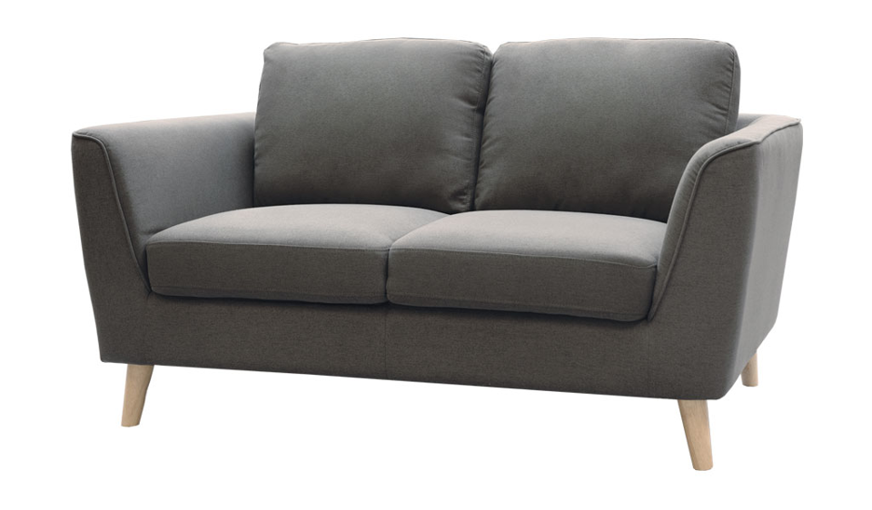 Luna Two Seater Sofa - Grey