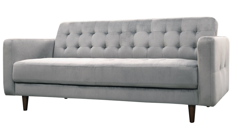 Iris Three Seater Sofa - Grey