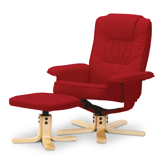 Relaxus Recliner - Red