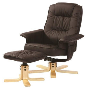 Relaxus Recliner - Dark Brown