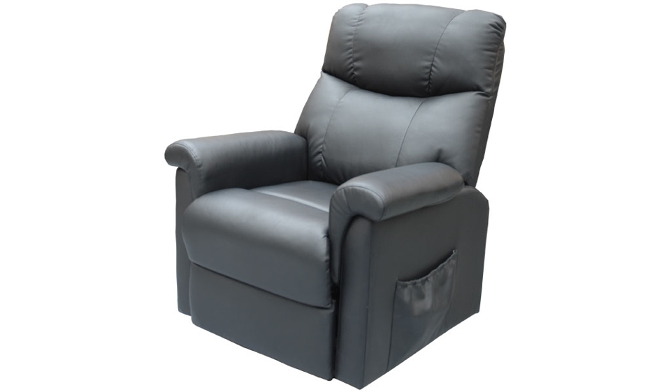 Stork Lifter Chair - Black Pu