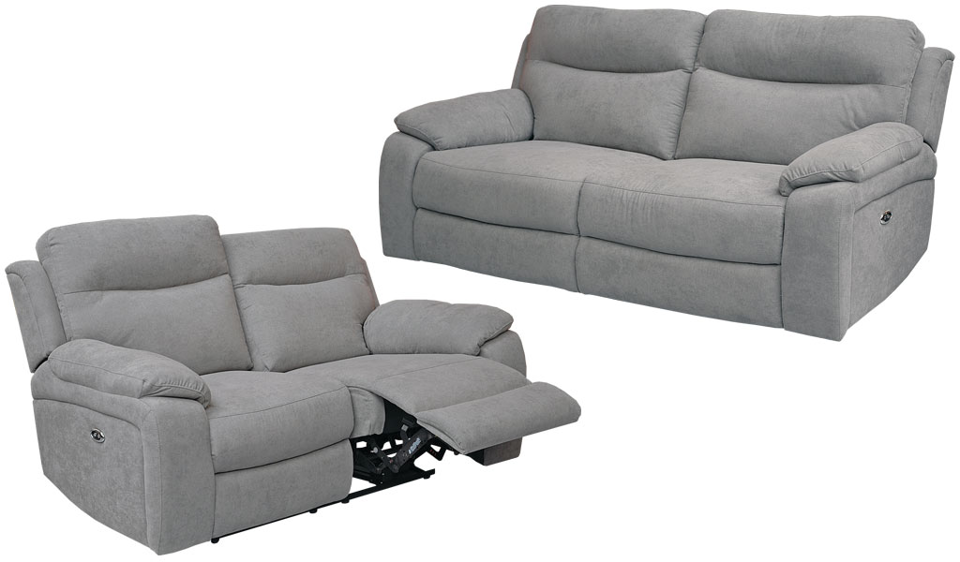 Flint Recliner Suite - Three + Two Seater